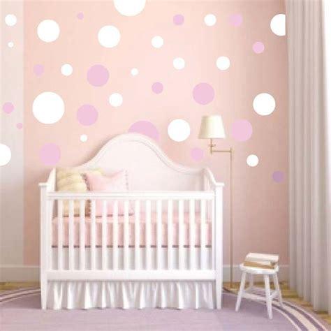 Nursery Wall Mural Decals Nursery Polka Dot Wall Decals Trendy Wall Designs