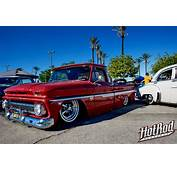 Slammed Chevy Truck Looking Fly With That Old School