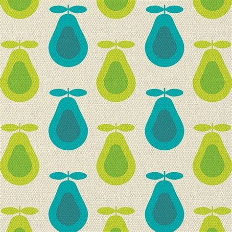 Upholstery Fabric Victoria Bc Vintage Pear Print Fabric Pattern And Shape Pinterest