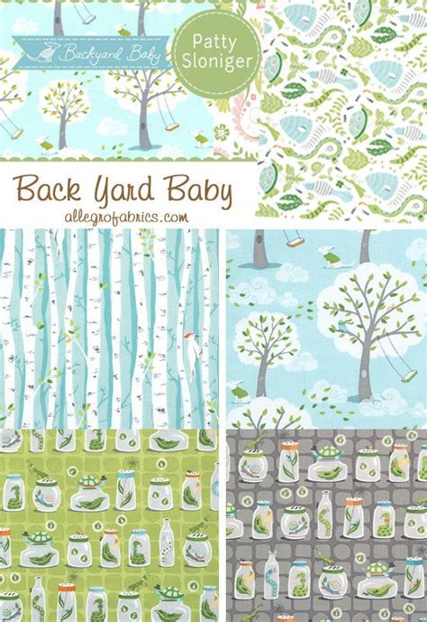 michael miller backyard baby fabric 16 best surface pattern collections images on pinterest