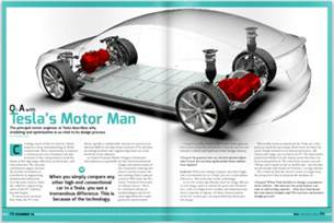 Electric Motor Car Design Tesla S Motor An With Tesla Motors Lead
