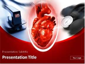 free cardiac powerpoint templates cardiology theme defibrillator and