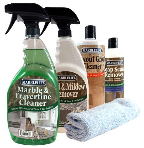 Clean Kitchen & Bathroom Care Kit by MARBLELIFEMarblelife