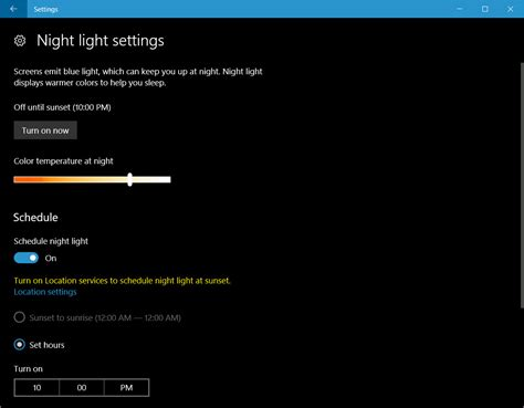 lights in windows guide enable light in windows 10 and how it works