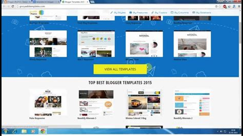 blogger youtube template how to install a custom template in blogger youtube