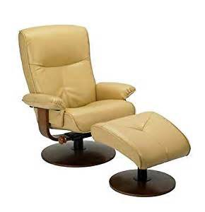 Yellow Leather Recliner Nexus Butter Yellow Dura Leather Recliner And Ottoman Set By Stanley Chair Kitchen