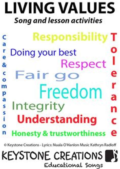 respect lesson for safety attitude etc rschurchlady 1000 images about living values educational song on