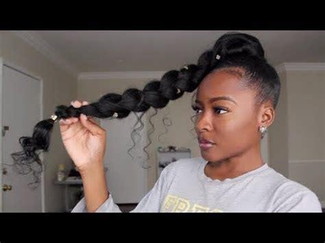 human hair ponytail with goddess braid jumbo braid goddess ponytail jumbo braids ponytail and