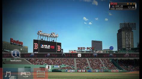 ps4 themes mlb mlb 174 15 the show dynamic theme boston red sox en ps4