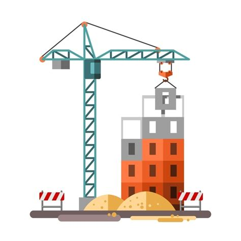 city building construction template vectors 07 vector