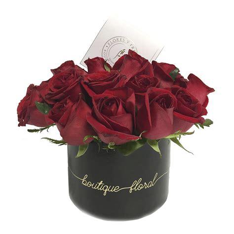 imagenes de rosas negras y rojas 18 rosas caja negra flores y fresas