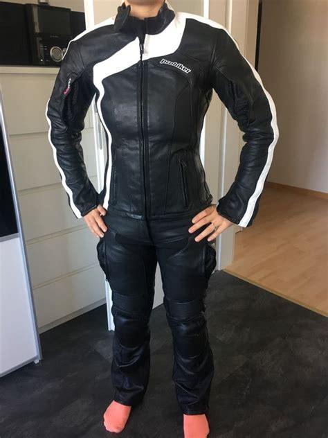 Gebrauchte Motorradbekleidung Damen by Damen Leder Kombi Zweiteiler In Puchheim