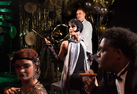 identity theme in the great gatsby the party never stops when collective face does the great