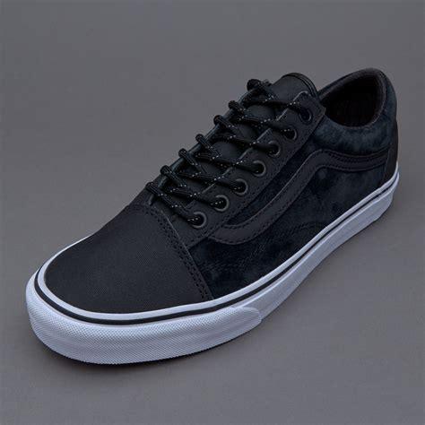 sepatu sneakers vans skool reissue dx black
