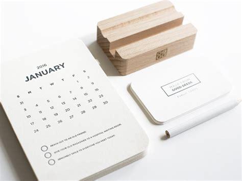 Desk Calandar by Creative 2016 Calendars