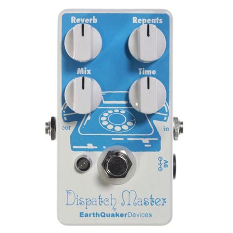 earthquaker devices earthquaker devices dispatch master delay reverb at