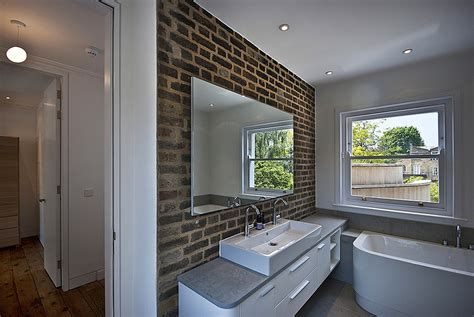 contemporary bathroom edwardian country house modern extension to a victorian house in london comes with
