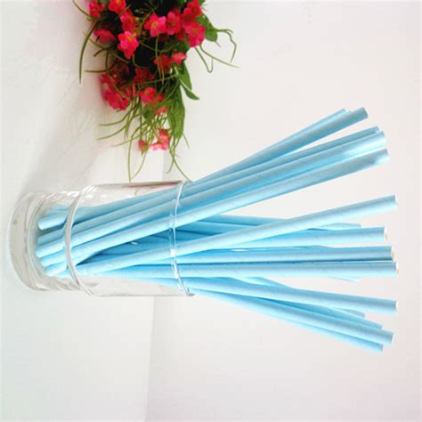 light blue paper straws blue paper straws solid color light sky blue paper straws