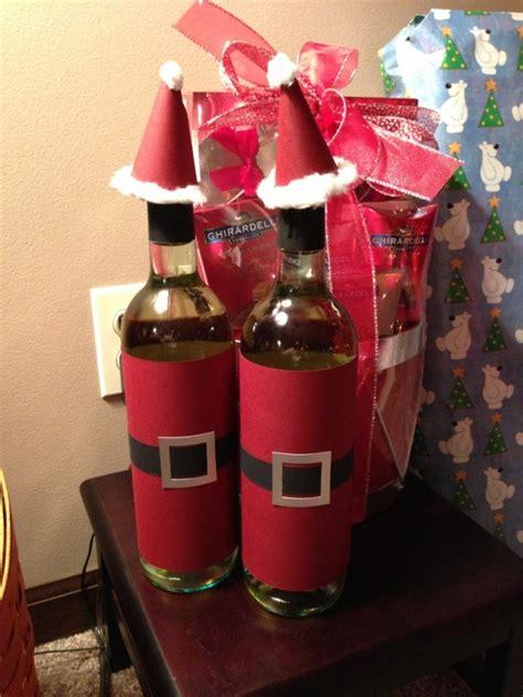 Weinflaschen Verpacken Geschenk by Weinflaschen Zu Weihnachten Als Geschenk Verpacken