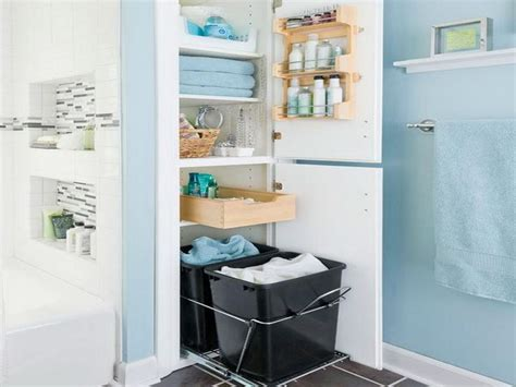 17 Best Images About Bathroom Closet Ideas On Pinterest Bathroom Closet Storage