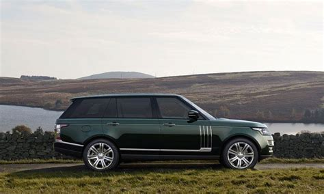 where are range rovers built range rover edition has built in gun