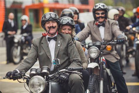 Kaos The Distinguished Gentlemans Ride motorcyclists go dapper for the distinguished gentleman s ride mcn