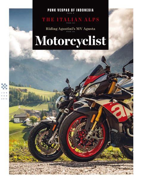Motorradfahrer Zeitschrift by Motorcyclist Magazine Digital Discountmags