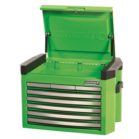 8 Drawer Tool Box by Contour 174 Tool Chest 8 Drawer Green Tool Chests