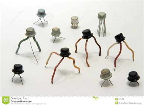transistor graphics settings electronic transistors royalty free stock photos image 671498