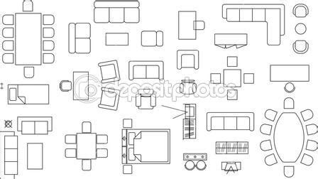 furniture icons for floor plans floor plan symbols clip art 36