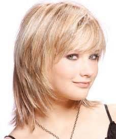 Length haircuts with bangs layers for thick hair round faces 2014 20