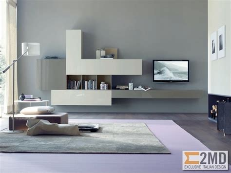Houzz Living Room Tv Units Tv Units Modern Living Room Other Metro By 2md