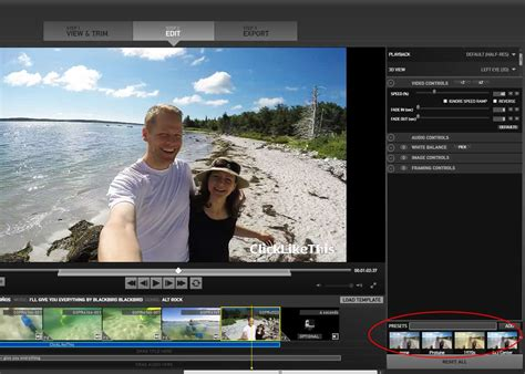 go pro studio templates how to use gopro edit templates 6 steps to awesome