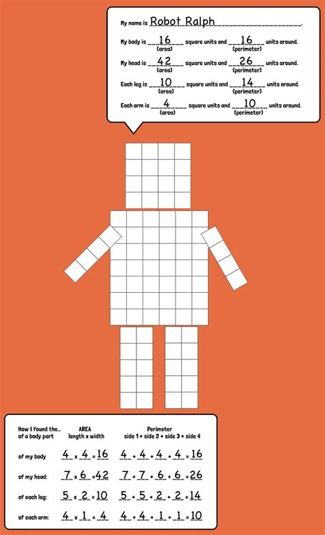 printable area games area and perimeter robots wreck it ralph tes and creativity