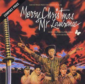 ryuichi sakamoto merry christmas  lawrence sound track   motion picture cd album