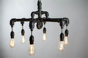 industrial lighting chandelier buy a crafted 6 edison bulbs industrial lighting