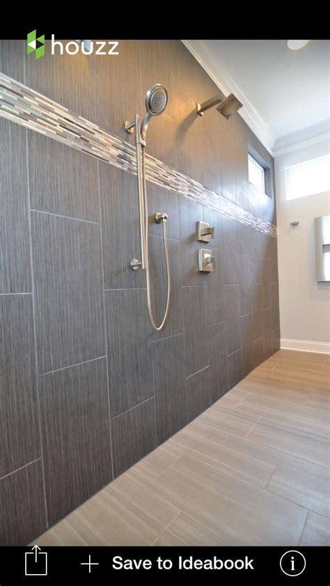 bathroom tile vertical stripe 12 x 12 strand twilight tile for shower walls pictured is