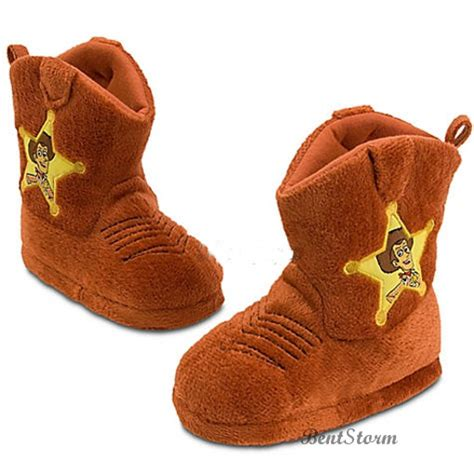woody slippers new disney store story cowboy sheriff woody boots