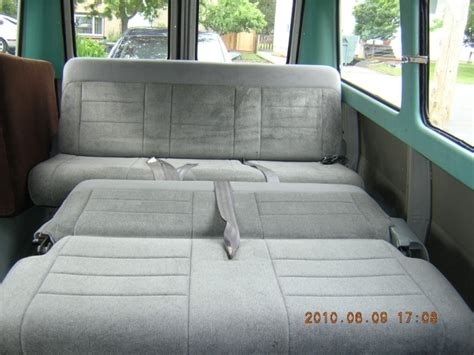 fold down bench seat for van ford van bench seat bed
