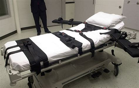applications of the penalty lethal injection