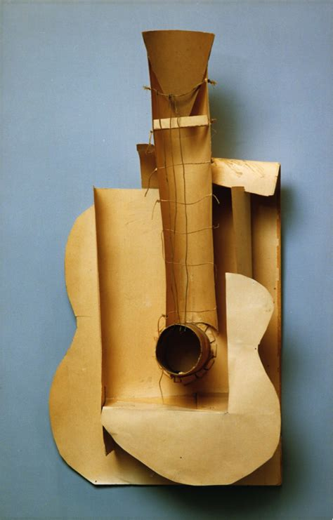Picasso Cubism Guitar Histart History 272 With Potts At