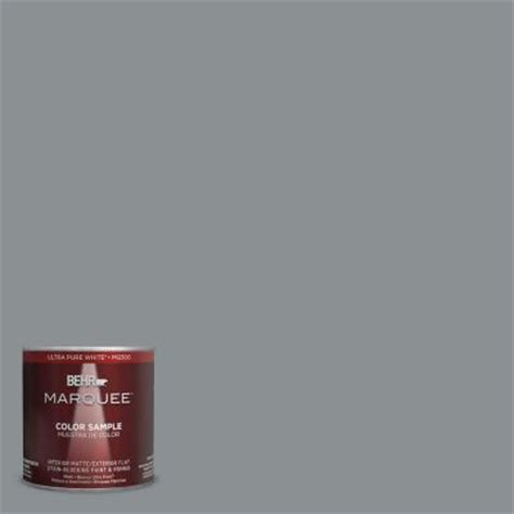 behr marquee 8 oz mq5 29 gotham gray interior exterior paint sle mq30416 the home depot