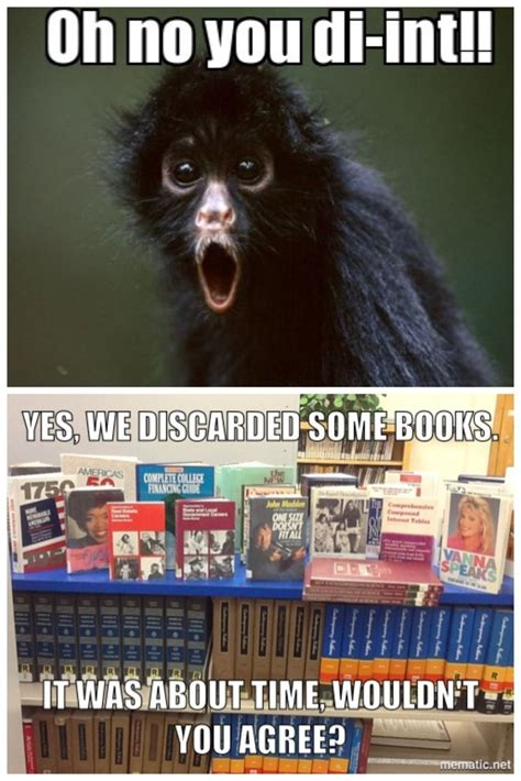 Library Memes - discard memes sunnyside high school library and