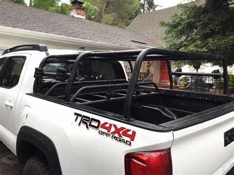tacoma bed rack system 2016 all pro pack rack bed rack gear rack tacoma world