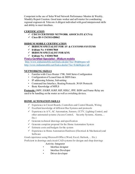 networking resume for 1 year experience networking 1 year experience resume resume cover letter