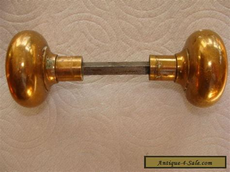 Antique Brass Door Knobs For Sale by Vintage Set Of Antique Brass Door Knobs Original