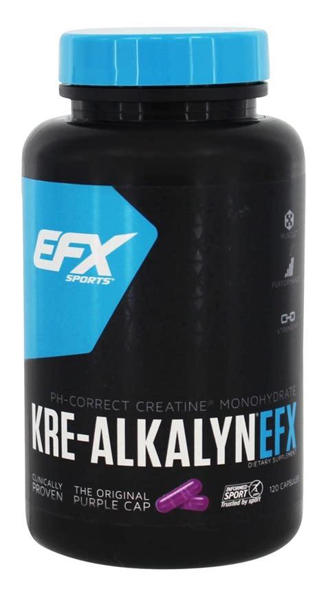 Supplemen Nutrisi Efx Krealkalyn Kre Alkalyn 120 Caps New Packaging buy efx sports kre alkalyn efx 120 capsules at luckyvitamin