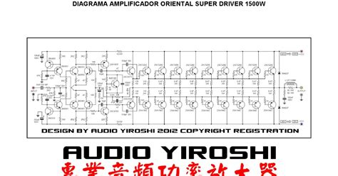 Driver Blazer X10 fosti audio electronics project koleksi power
