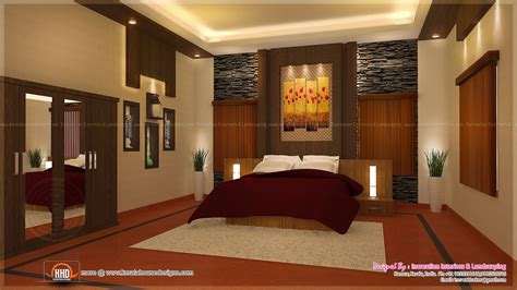 home interior designs house interior ideas in 3d rendering kerala home design and floor plans