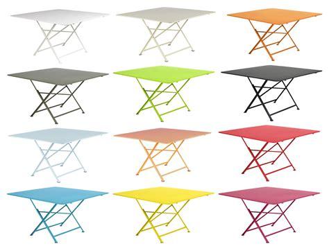 cargo hi tech tavoli scopri tavolo pieghevole cargo 128 x 128 cm fiordo